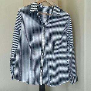 Dressy Chico's Button Down Shirt